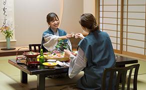 Welcomeお抹茶サービス