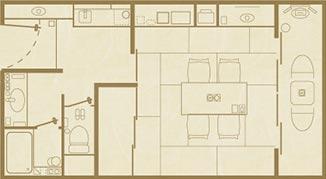 間取り:和室○畳+広縁