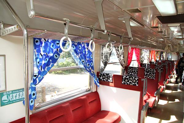 天浜線■スローライフトレイン(マリメッコ デザイン)