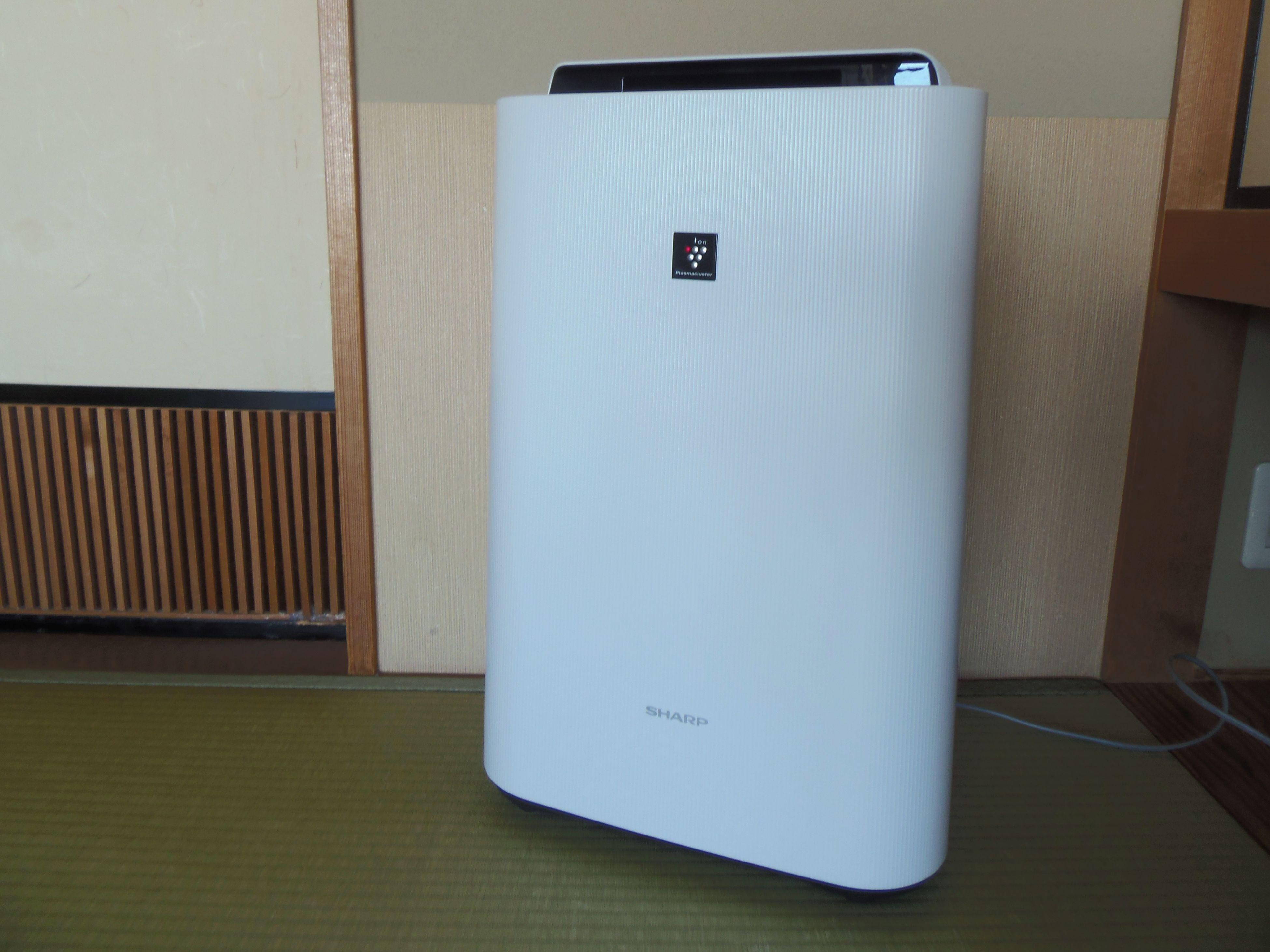 空気除菌清浄機を全客室導入いたしました!