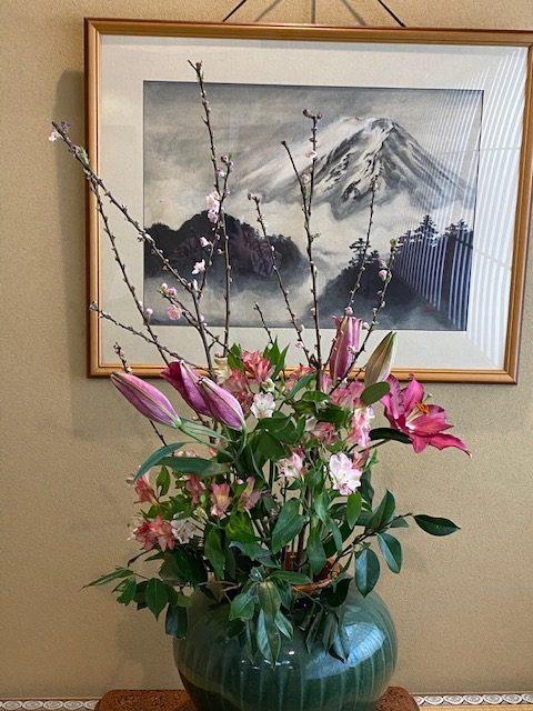 3月2日~3月5日までいけていた生け花です!